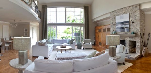 great room furnished
